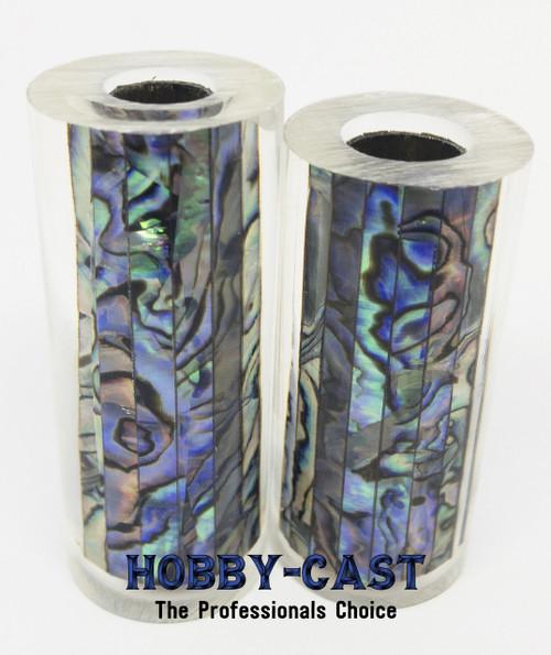 HOBBY-CAST ABALONE SHELL JR SERIES PEN BLANK *NATURAL*
