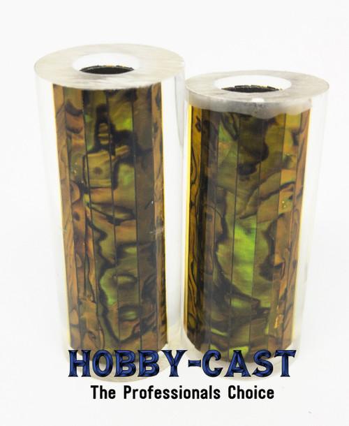 HOBBY-CAST ABALONE SHELL JR SERIES PEN BLANK *GOLD*