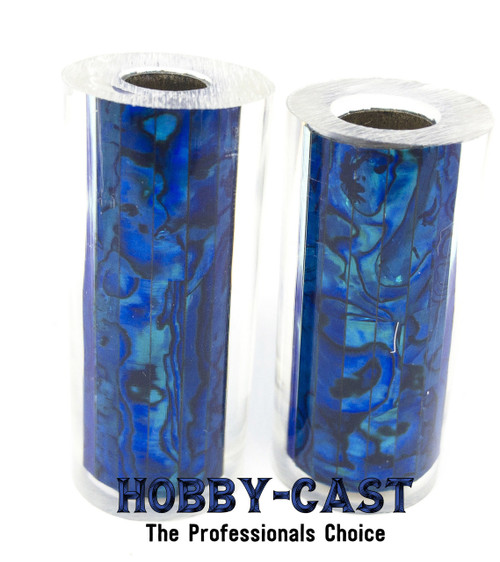 HOBBY-CAST ABALONE SHELL JR SERIES PEN BLANK *BLUE*