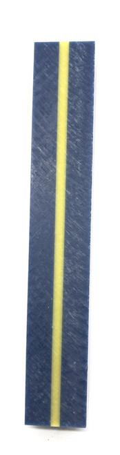 #WXTADB THIN YELLOW/GOLD LINE ON BLUE BLANK (ARMY DRESS BLUE)