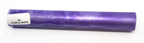 Hobby-Cast Blue - White Acrylic Pen Blank