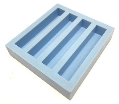 HOBBY-CAST Silicone Mold 4 Cavity Block Mold