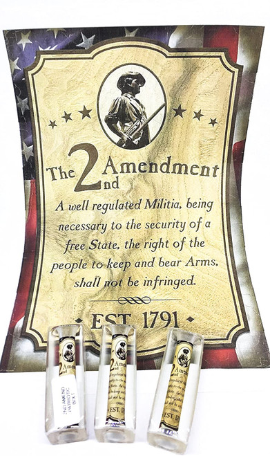 2nd Amendment Patriotic Pen Blank