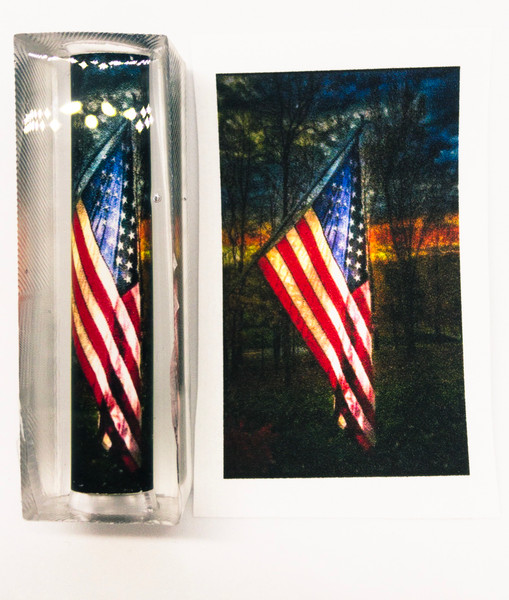 Veteran Sunset Pen Blank