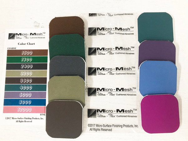 9 pc Micro Mesh 2x2