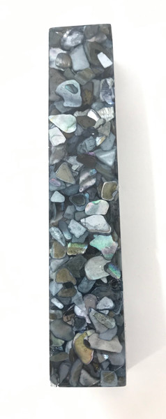 #224 Black Pearl Dyed Sea Shell