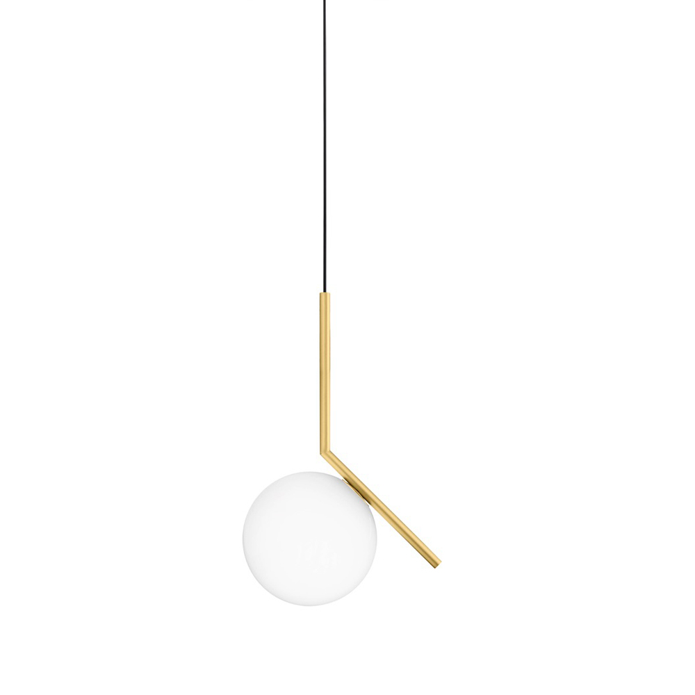 outlet store 49734 d64ae IC Lights S - Pendant Light in Brass or Chrome