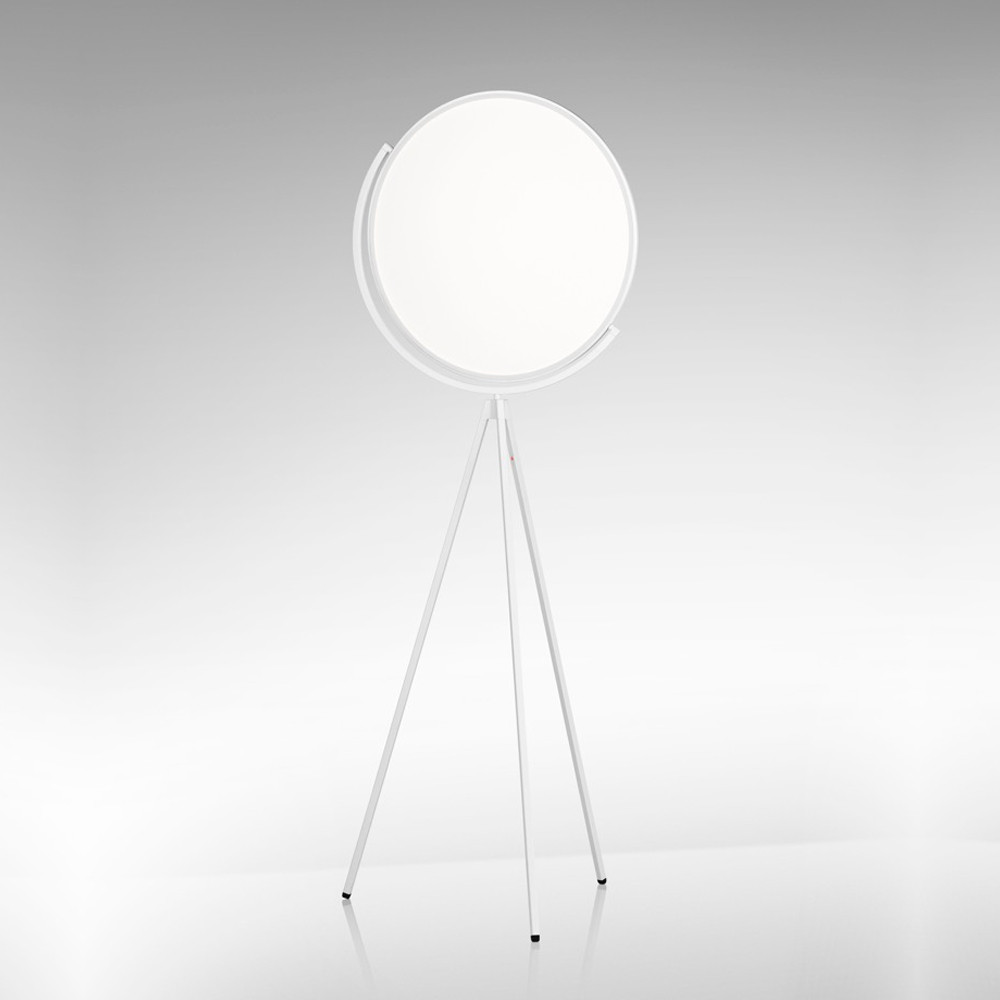 100% authentic e775a dc3bb Superloon - LED Floor Lamp in Black or White Dimmable with Optical Sensor