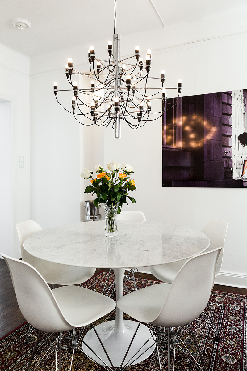2097 Chandelier By Gino Sarfatti Modern Pendant Lights