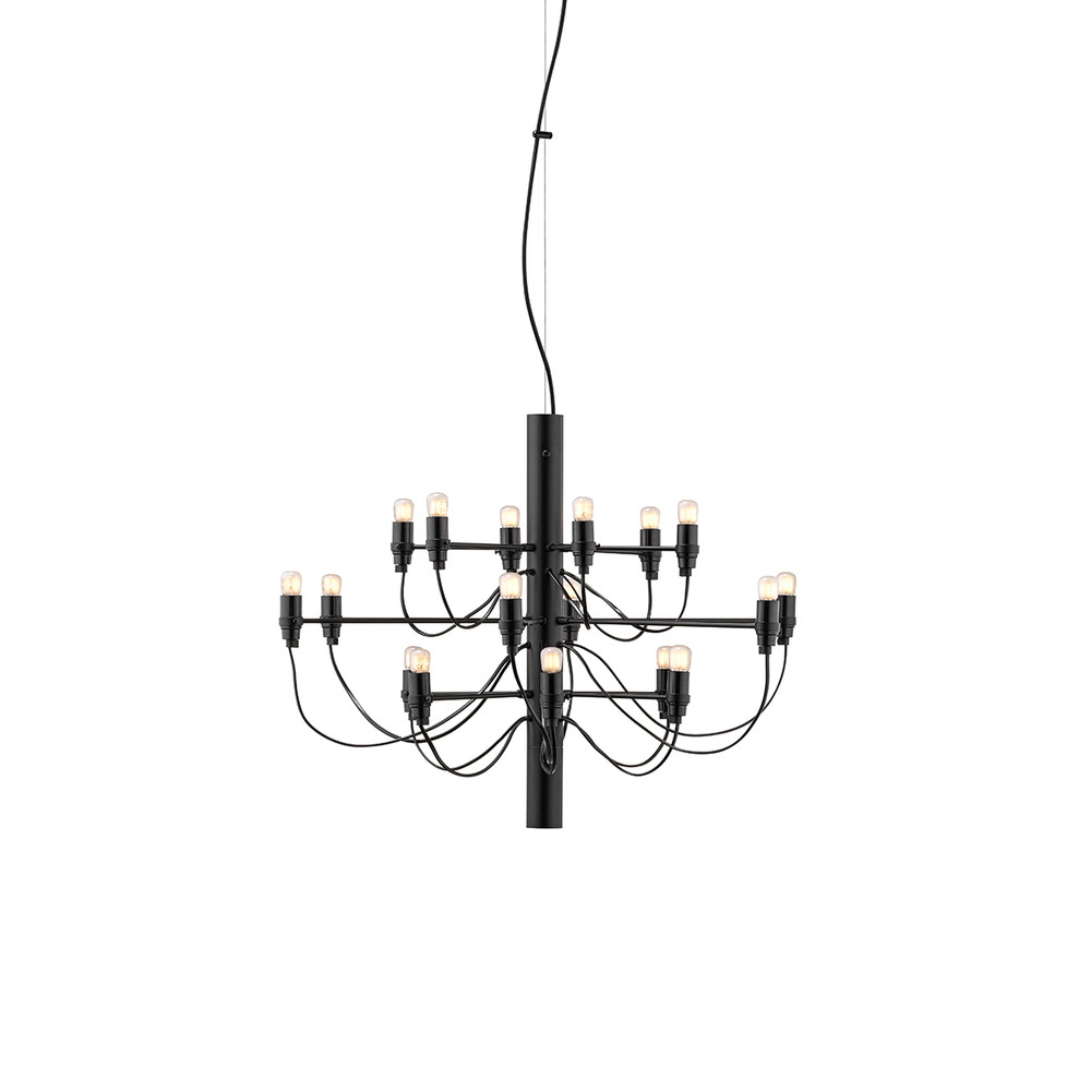 FLOS 2097 contemporary chandelier  - Gino Sarfatti Flos USA