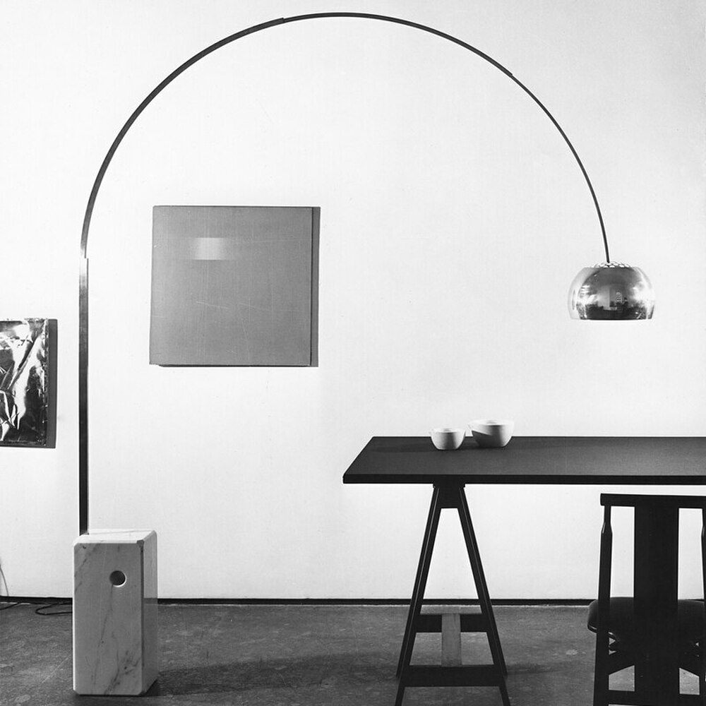 Arco Floor Lamp 1960 S Series By A Castiglioni Flos Usa