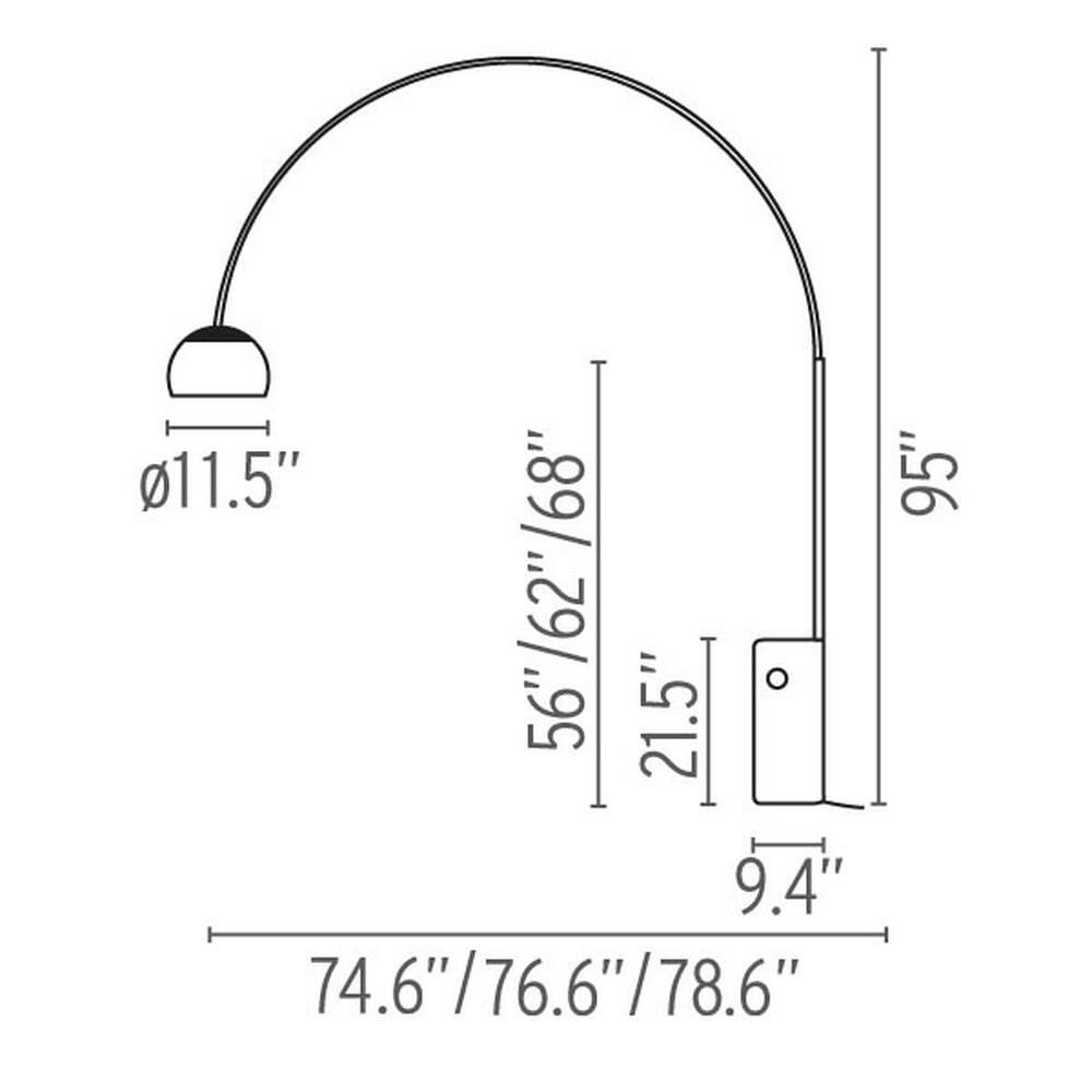Arco Floor Lamp 1960's Series by A. Castiglioni | FLOS USA on neon lamp wiring diagram, outdoor lamp wiring diagram, floor lamp wiring diagram, desk lamp wiring diagram, uv lamp wiring diagram, hps lamp wiring diagram, table lamp wiring diagram, halogen lamp parts, lamp socket wiring diagram, led lamp wiring diagram, miniature lamp wiring diagram, metal halide lamp wiring diagram, halogen light wiring diagram, fog lamp wiring diagram, fluorescent lamp wiring diagram,