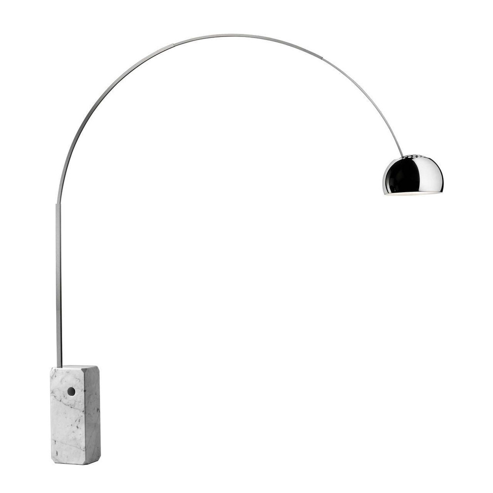 FLOS Arco lamp by Achille Castiglioni - Modern arc floor lamp at Flos