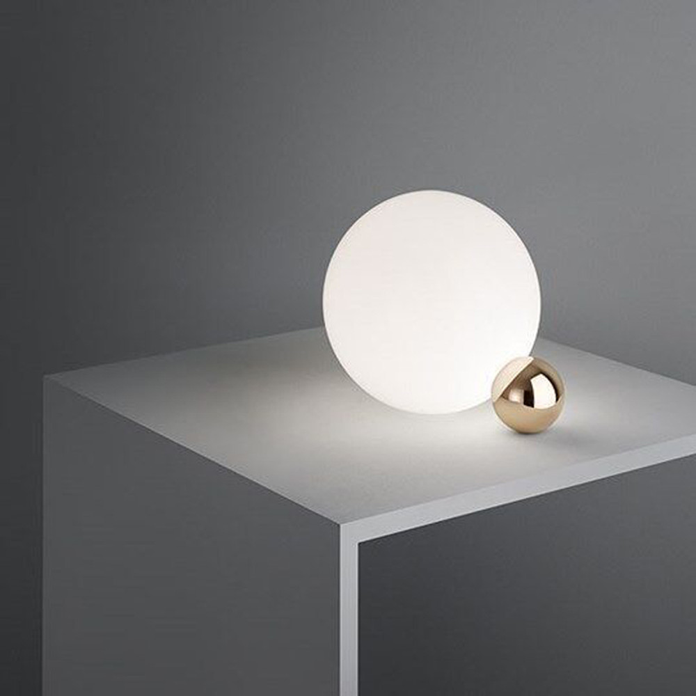Table lamps lighting White Light Flos Copycat Modern Table Lamps Flos Usa Copycat Modern Sphere Table Lamp By Michael Anastassiades