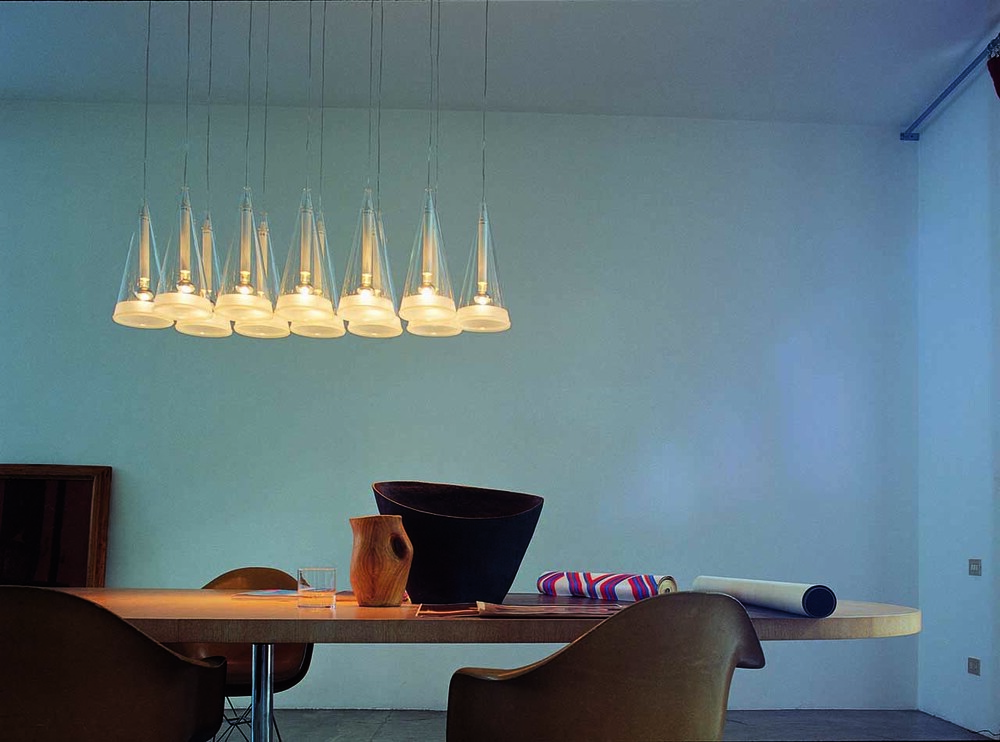 Fucsia 12 by Achille Castiglioni - Decorative Hanging Lamps