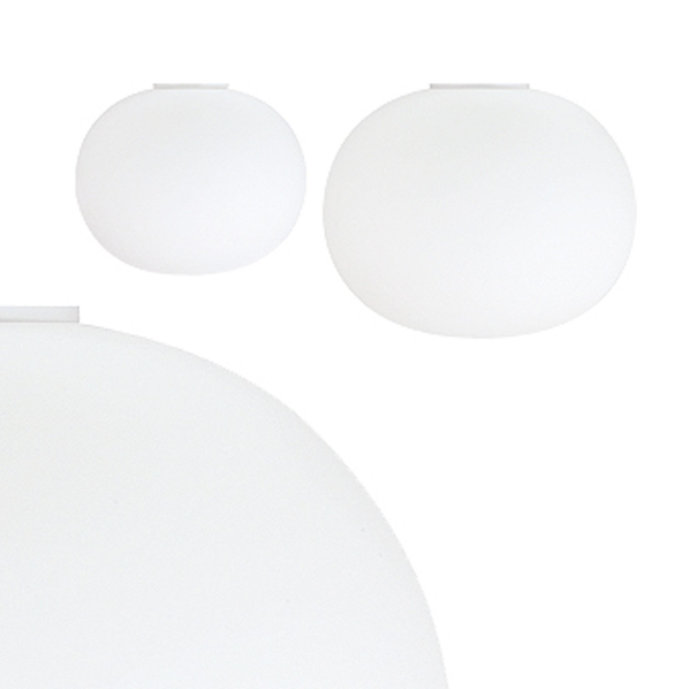 Glo Ball C - Glass ball ceiling light