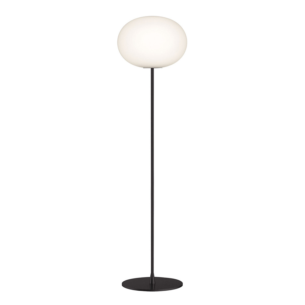 FLOS Glo ball floor lamp in Black