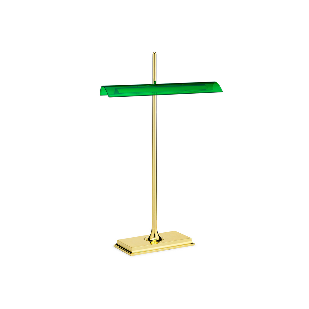 FLOS Goldman Ron Gilad - Brass Bankers Lamp