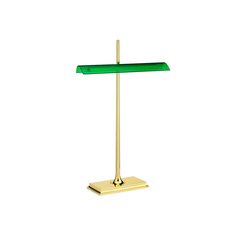 FLOS Goldman Ron Gilad - Brass Bankers Lamp