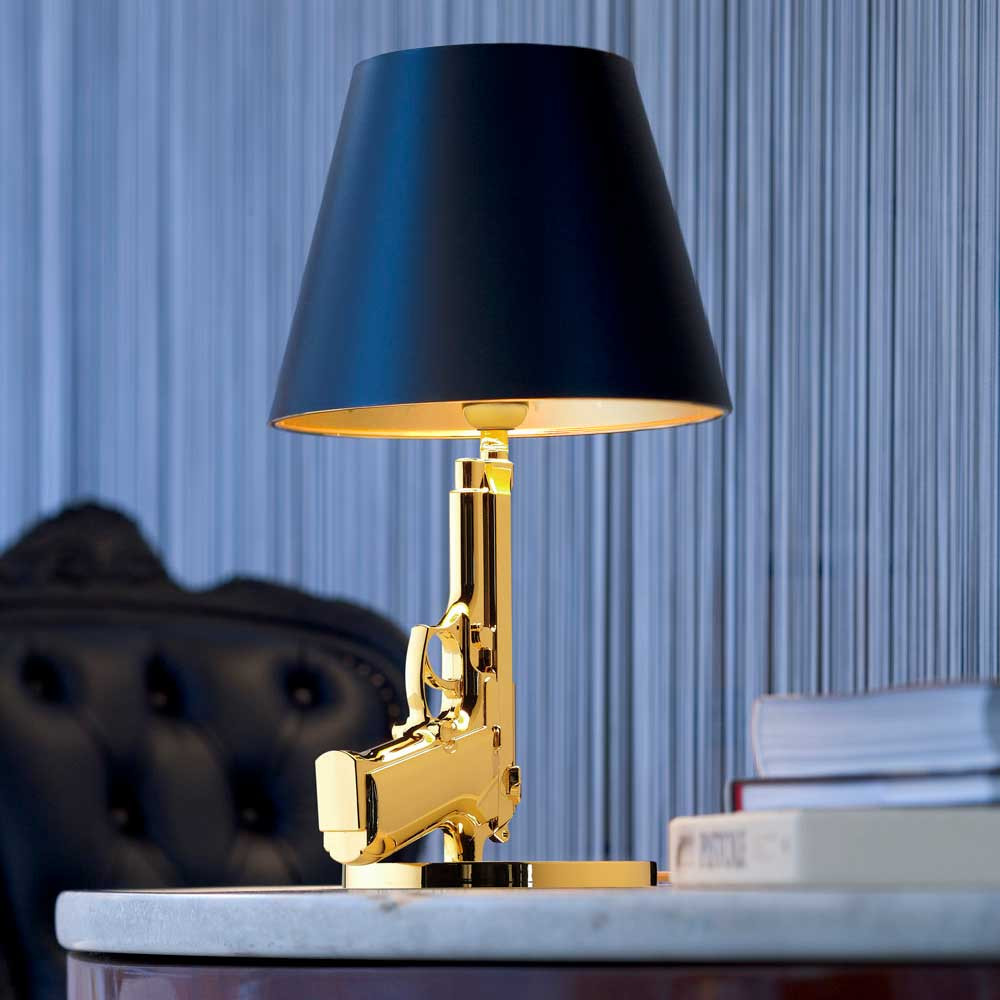 Guns Bedside Modern Table Lamp By Philippe Starck Flos Usa