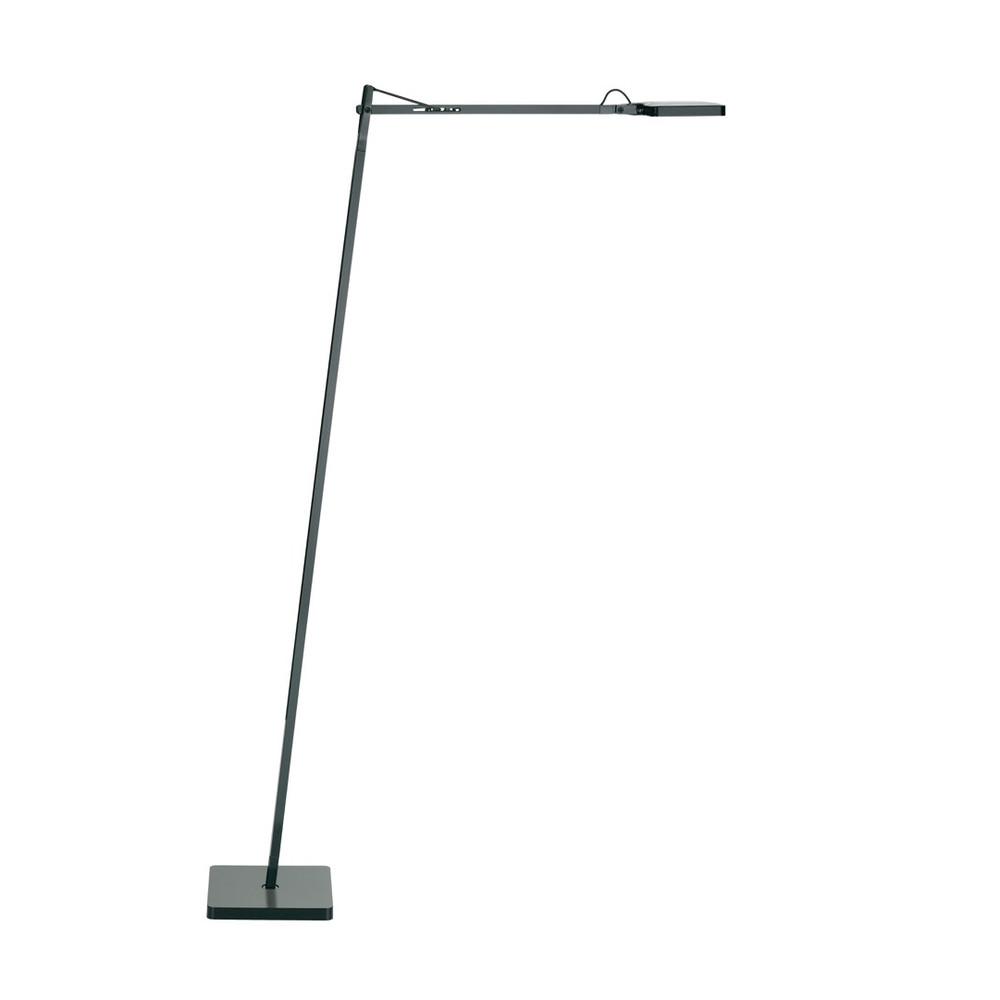 Kelvin LED F - Floor Lamp in Anthracite Glossy White or Black 3-Step Dimmable