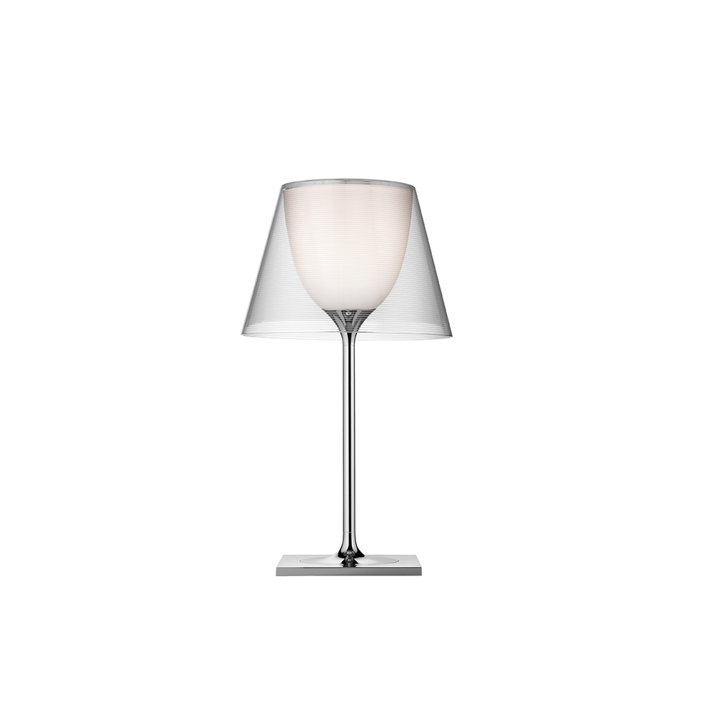FLOS Ktribe T modern glass table lamps by Philippe Starck