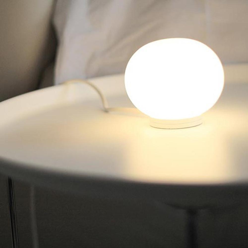 Mini Glo Ball T Modern Glass Globe Table Lamp By J Morrison