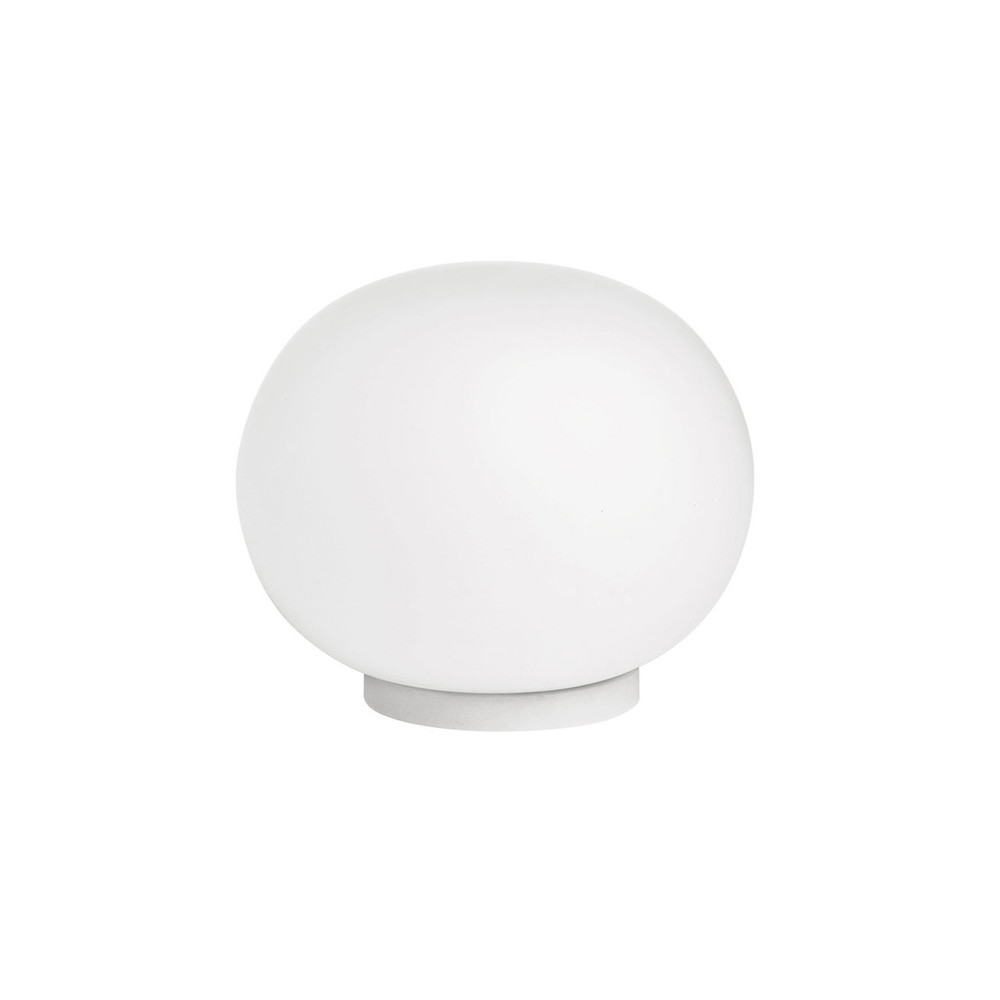 FLOS  Mini Glo - Glass ball table lamp by Jasper Morrison
