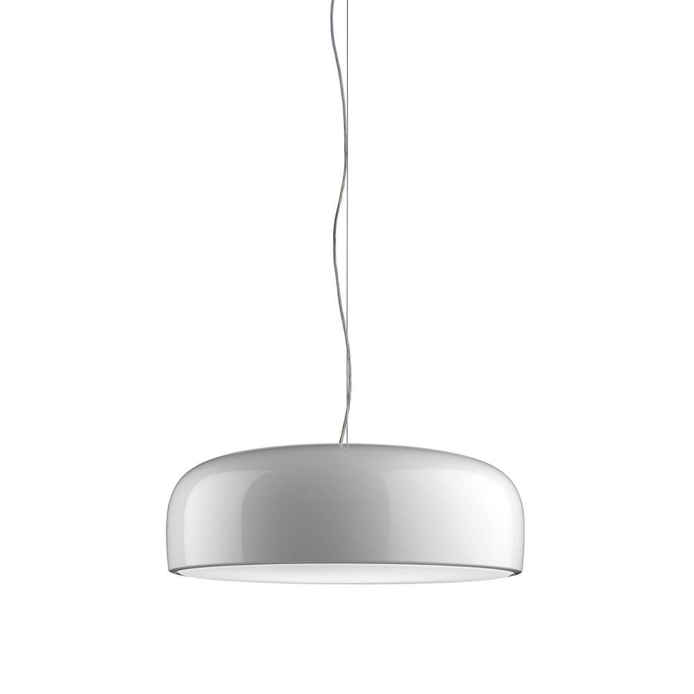 Smithfield S Pendant in White, designed by Jasper Morrison