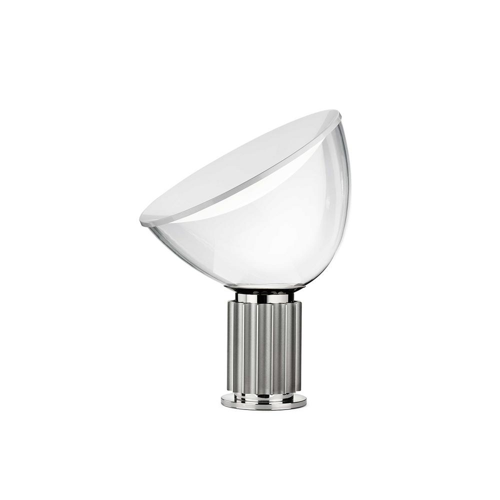 Taccia Original Classic Table Lamp by Achille Castiglioni Silver