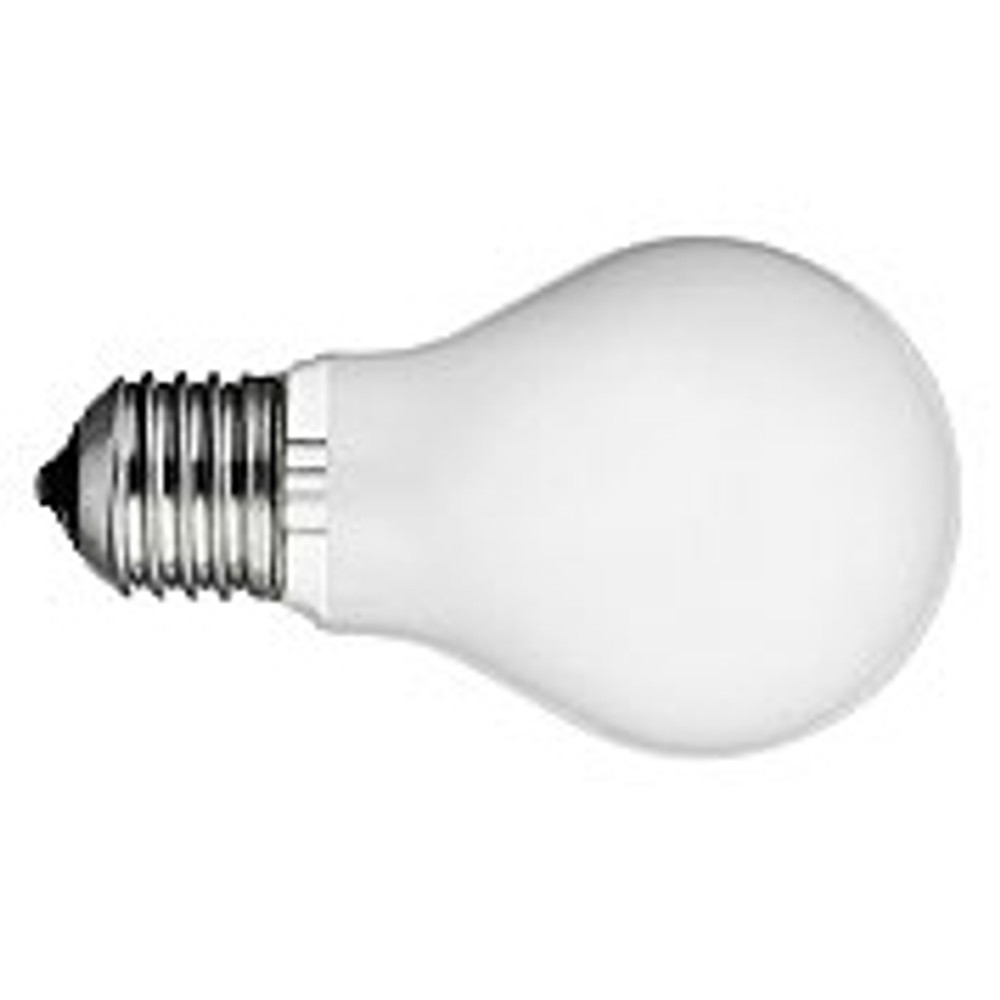 60W A-19 Medium Frosted Incandescent