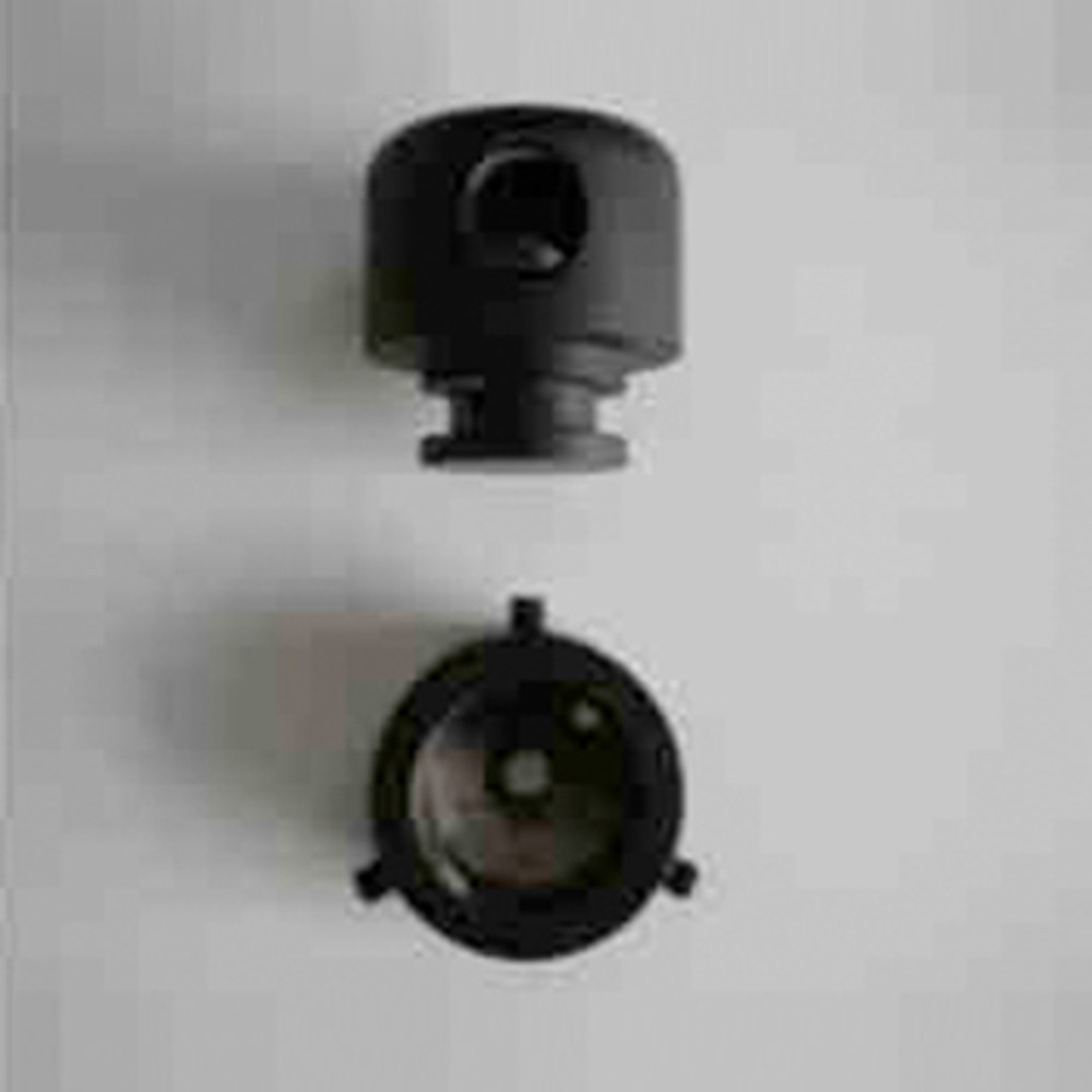 AIM Ceiling Attachment Assembly in Black