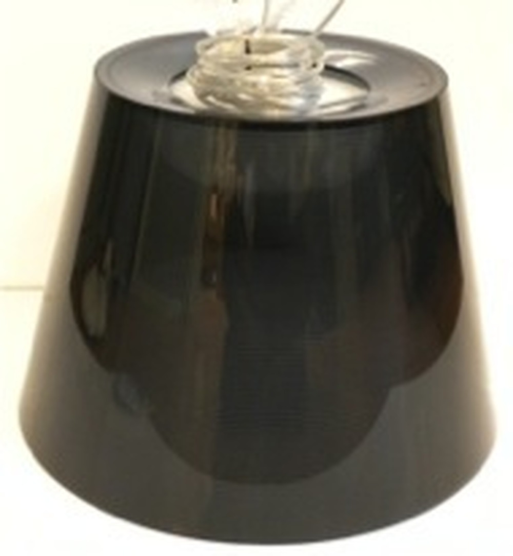 Ktribe S3 (fumee) external diffuser assembly with lampholder and electrical cable