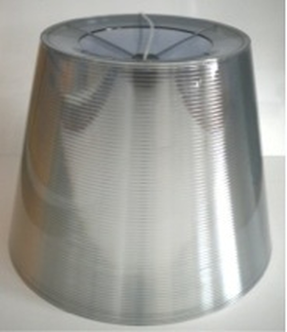 Ktribe S3 (silver) external diffuser assembly with lampholder and electrical cable