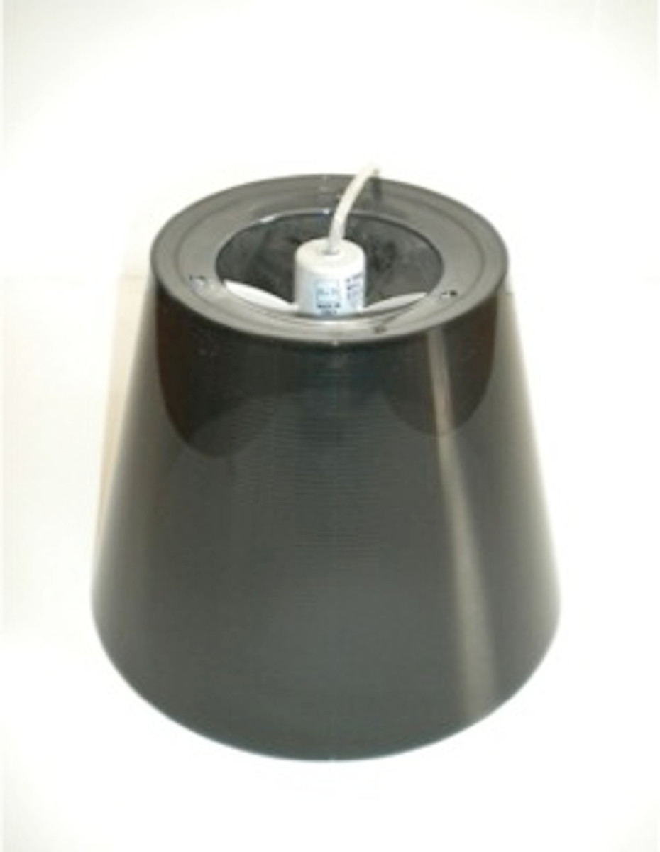 KTribe S1 Fume External Diffuser Assembly With Lampholder And Electrical Cable