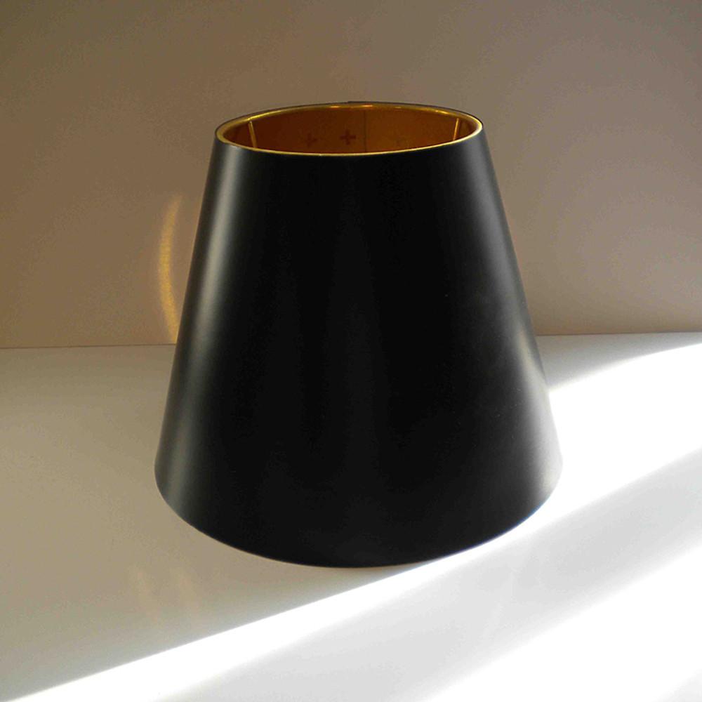 Table Gun black diffuser interior gold