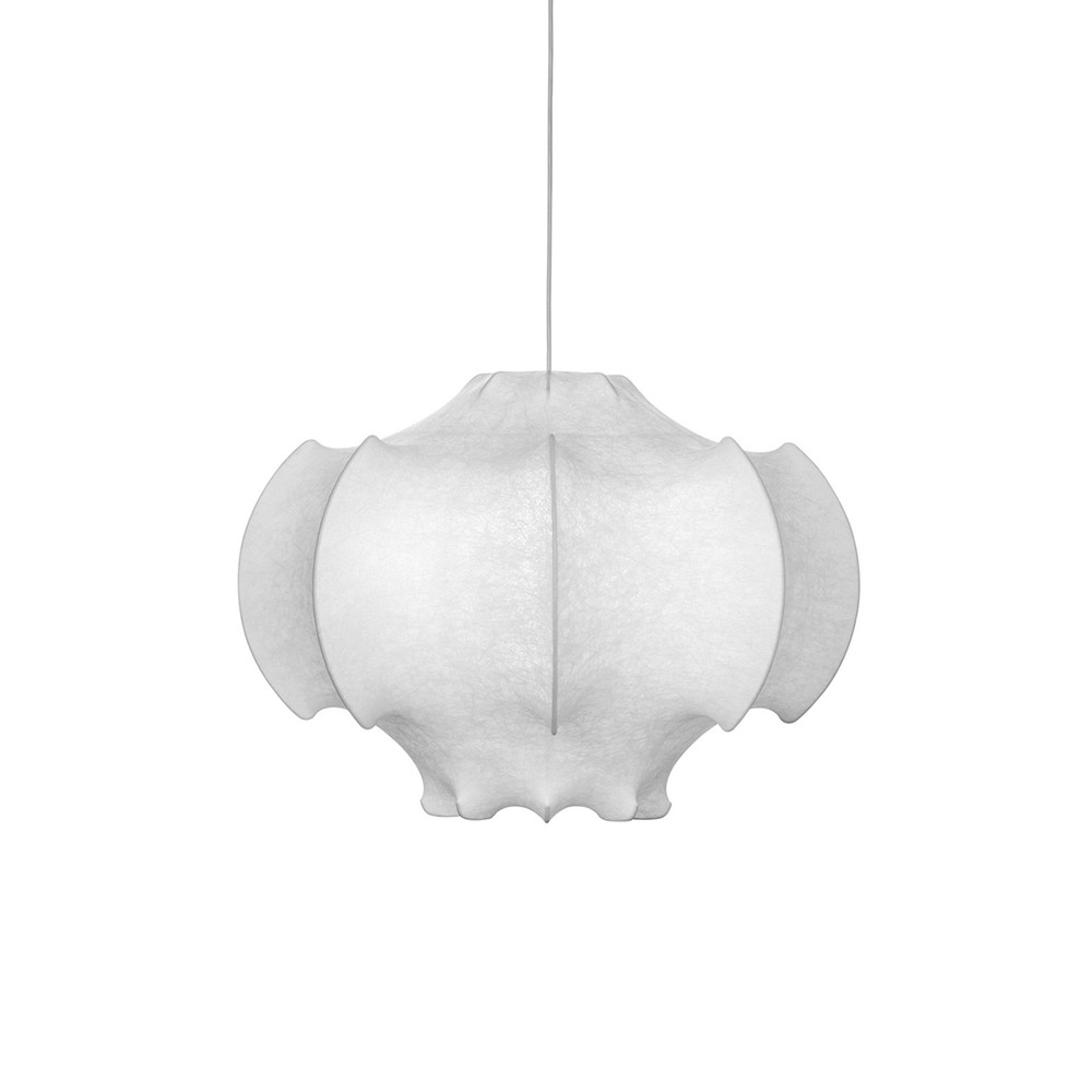 Viscontea - Pendant Dimmable Light  Made with Cocoon Material
