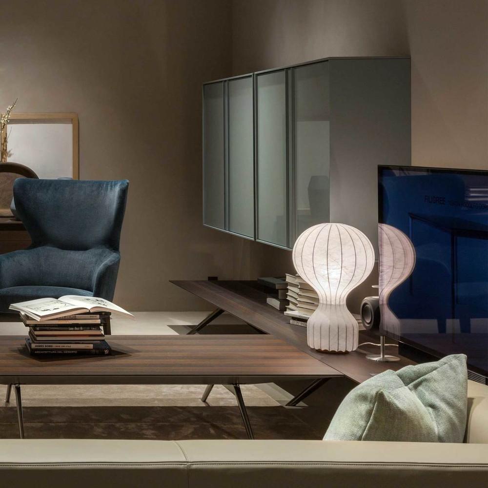 Gatto Modern Cocoon Table Lamp By Achille Castiglioni Flos Usa