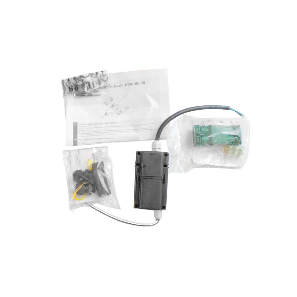 45 ADJ LED -  2-3 power pack box assembly
