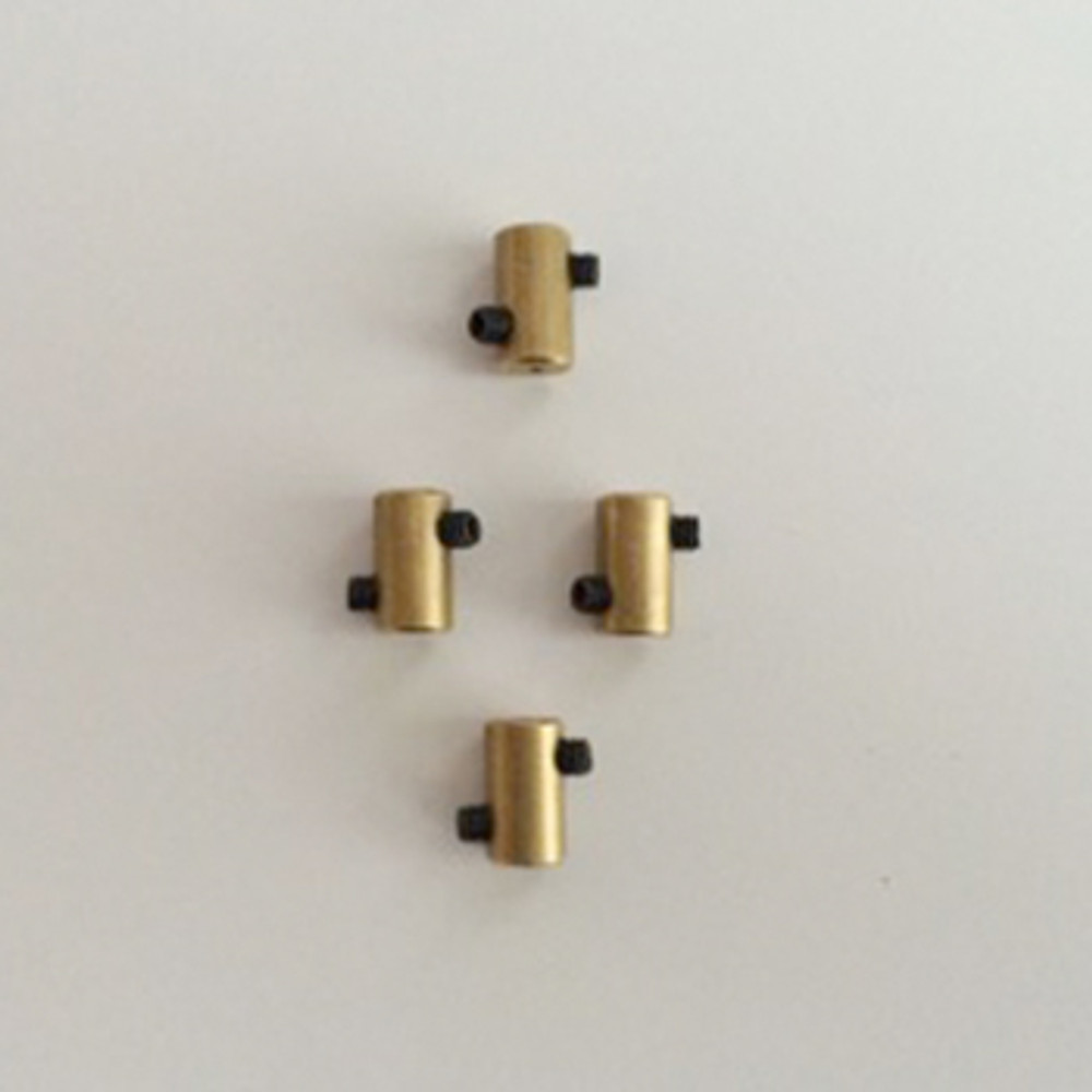 Kit With Brass Wire Clamps And Screws
