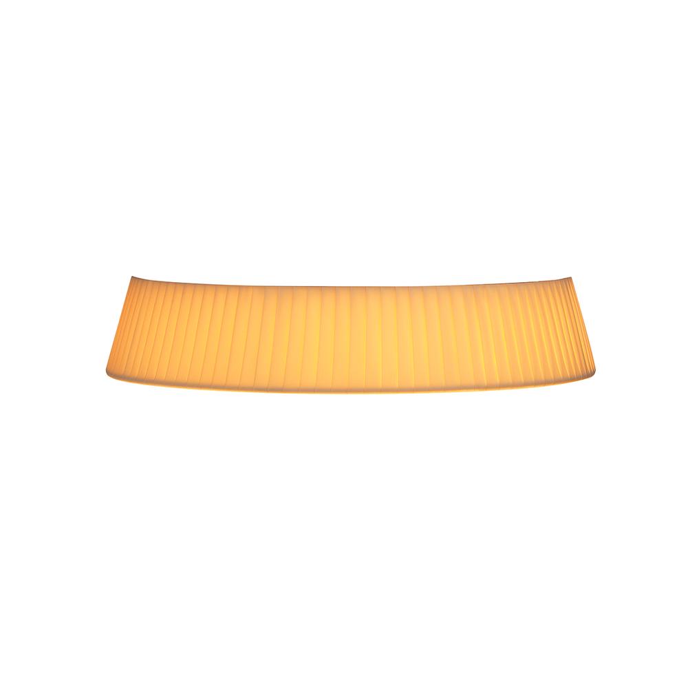 Bon Jour Table Lamp -  Plisse Cloth Crown