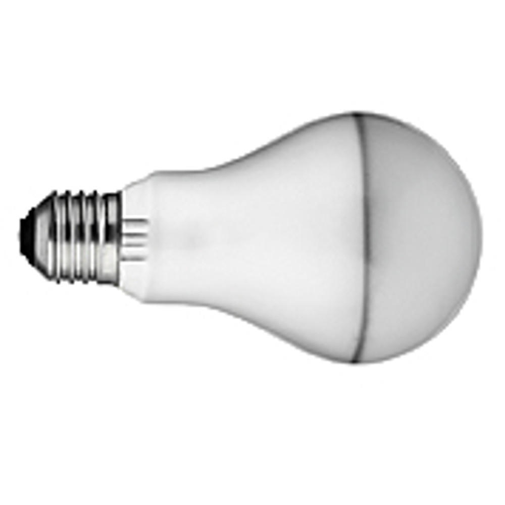4 x 100W A-21 Medium Silvered Bulb Incandescent