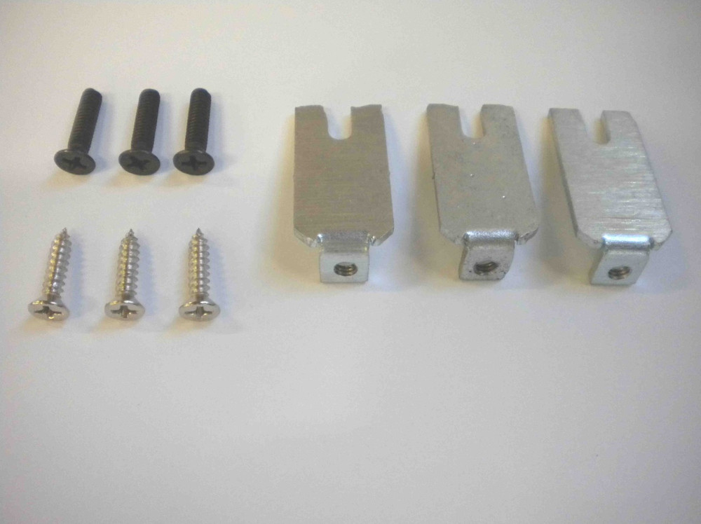 Stylos Kit of screws and metal bracket for diffuser assembly