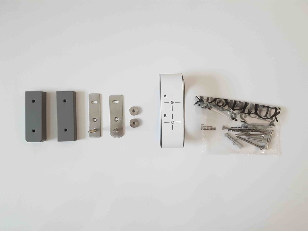 Kit with Screws, Nuts, Grey Cover Exc.
