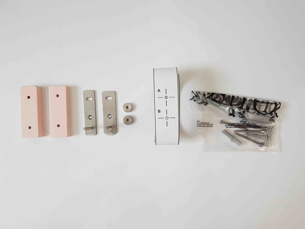Kit with Screws, Nuts, Pink Cover Exc.