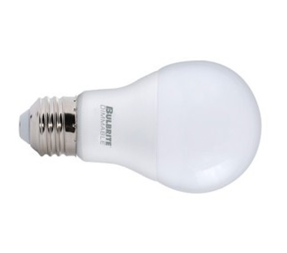 9W LED A19 Frosted Light Bulb (2700K)