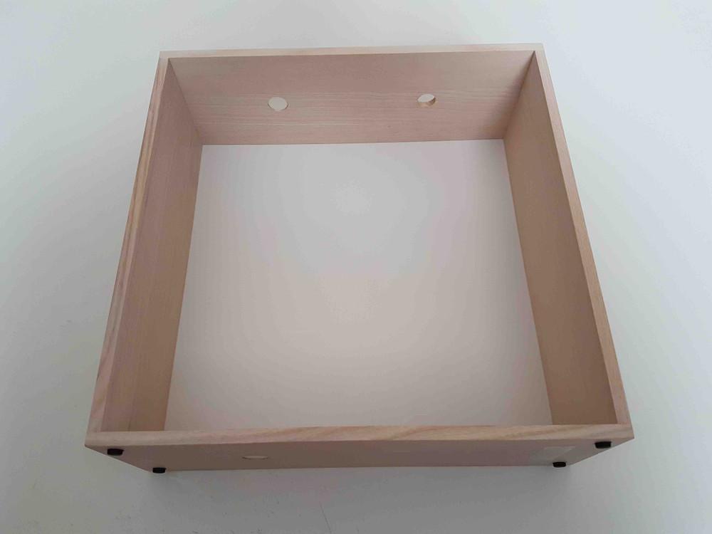 White Gaku Wire Box Assembly