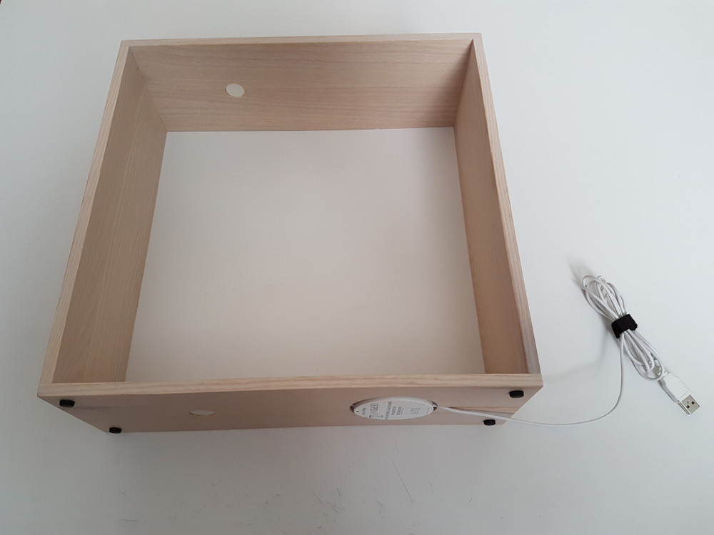 White Gaku Wireless Box Assembly