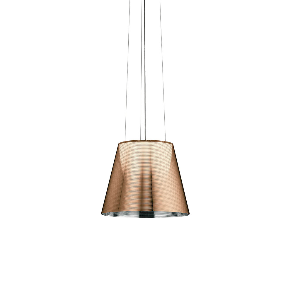 FLOS KTribe S by Philippe Starck in Aluminized Bronze