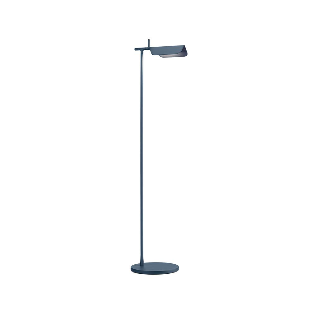 Tab Floor LED Lamp 90° Rotatable Head in Matte Blue & Dark Green - New Edition